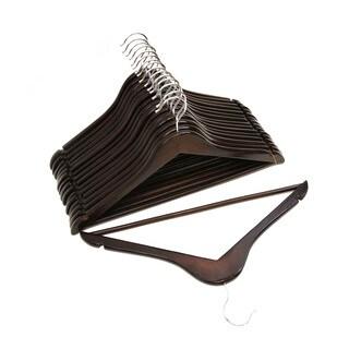 Florida Brands Wood Suit Hangers (Set of 16)