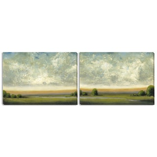 "Gallery Direct St. John's ""Good Earth I"" and ""II"" Canvas Art Set"