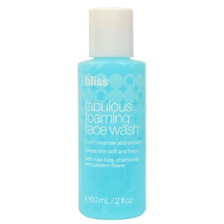 Bliss Fabulous Foaming 2-ounce Face Wash