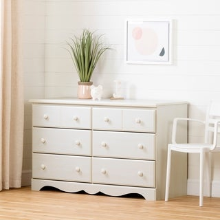 South Shore Summer Breeze 6-Drawer Double Dresser