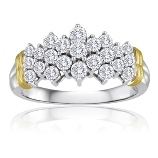 10k Gold 1ct TDW Diamond Ring