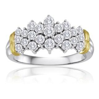 10k Gold 1ct TDW Diamond Ring