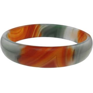 Multi-Color Agate Bangle