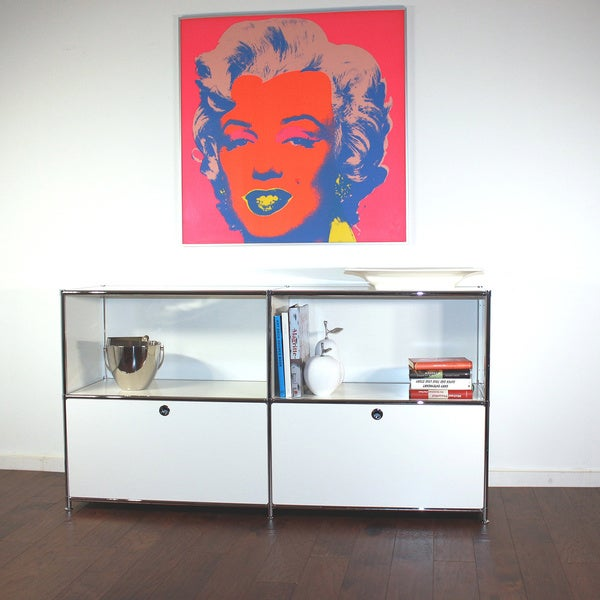 SYSTEM4 Side Board/ TV Media Stand with 2 Soft Close Drawers