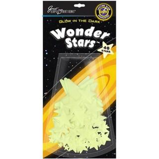 Glow In The Dark Pack-Wonder Stars 40/Pkg