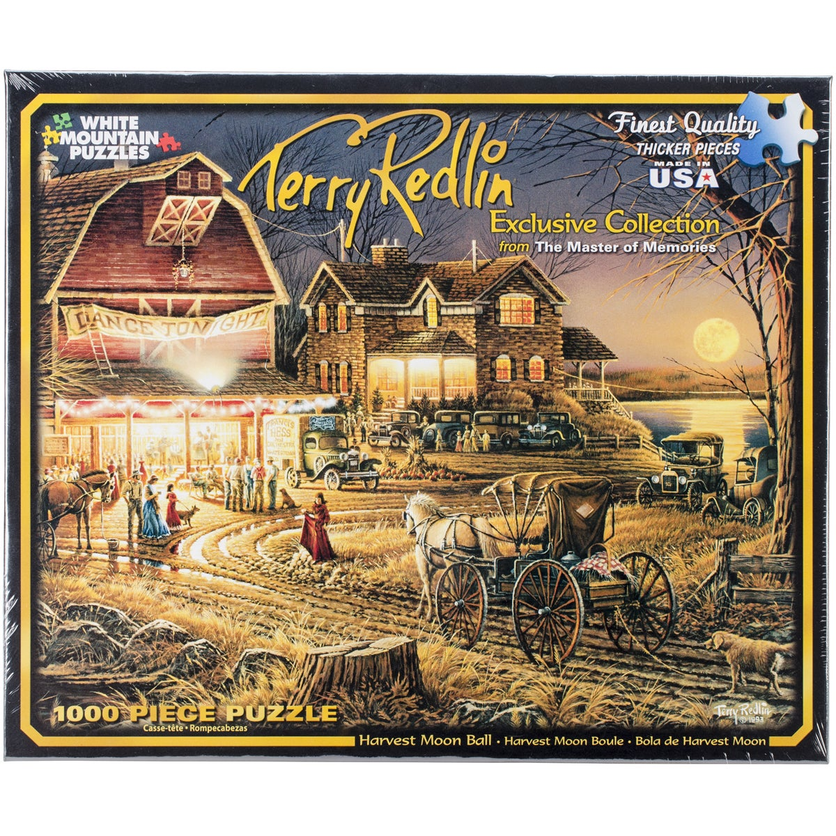 White Mountain Puzzles Jigsaw Puzzle Terry Redlin 1000 Pi...