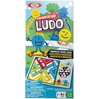 Magnetic Go-Ludo - Green/Blue