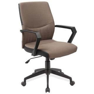KD Furnishings Two-tone Brown Office Arm Chair