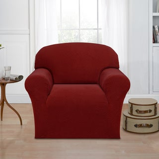 Basketweave Stretch Chair Slipcover