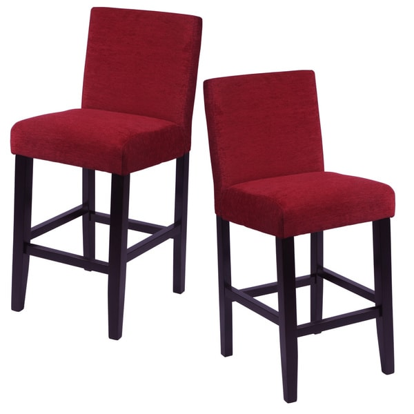 Aprilia Upholstered Counter Chairs Set Of 2 Free