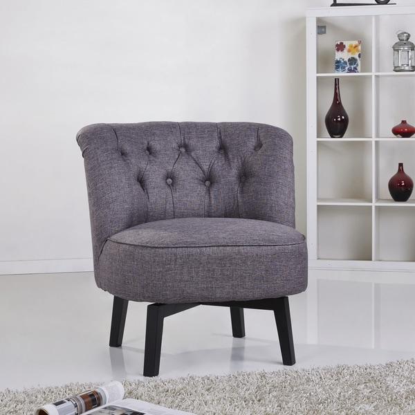 shop gold sparrow raleigh dark grey swivel chair free shipping