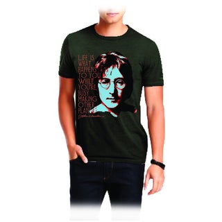 John Lennon Men's Heavy Metal T-shirt