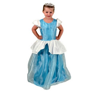 Sweetie Pie Girls Baby Blue Princess Dress