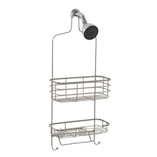 Zenith Extra Large Stainless Steel Shower Head Caddy