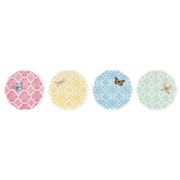 Shop Lenox Butterfly Meadow Trellis 4 Piece Dessert Plate