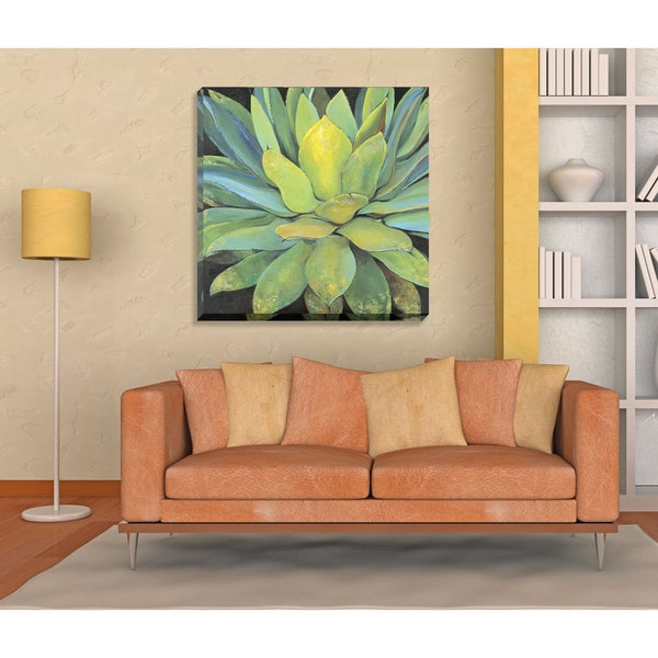 Large H Wall Decor : Portfolio canvas decor agave large printed wall