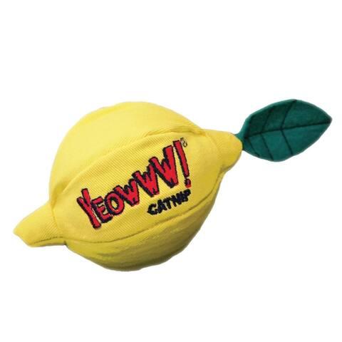 Yeowww! Catnip Lemon Sour Puss Cat Toy