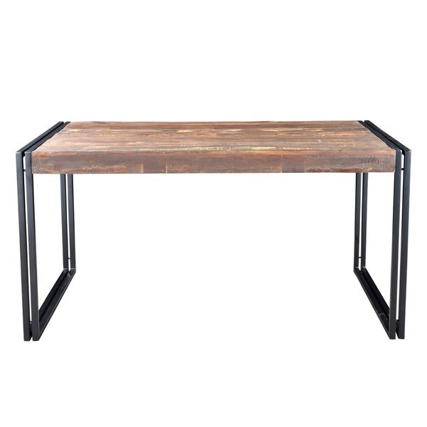 Furniture Legs India handmade timbergirl old reclaimed wood dining table with iron legs