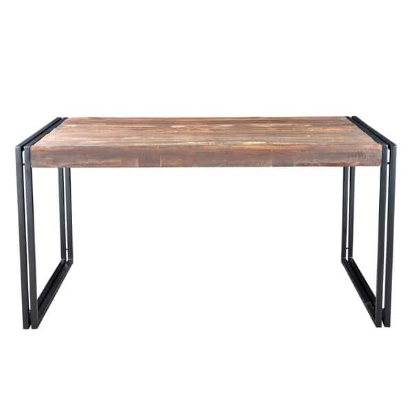 Shop Handmade Timbergirl Old Reclaimed Wood Dining Table ...