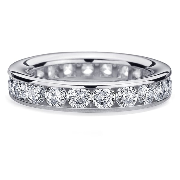 Amore Platinum 3ct TDW Diamond Wedding Band