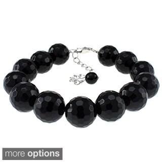 Pearlz Ocean Faceted Gemstone Bracelet