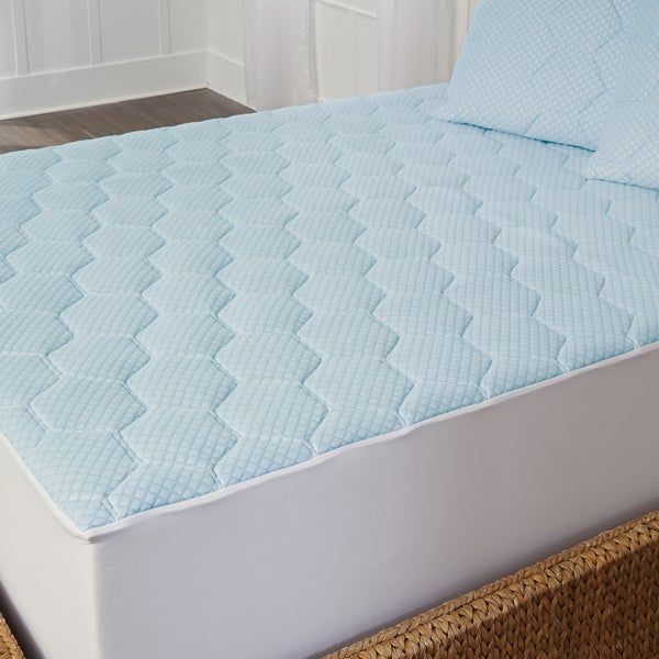 arctic sleep cooling 1inch gel memory foam mattress pad