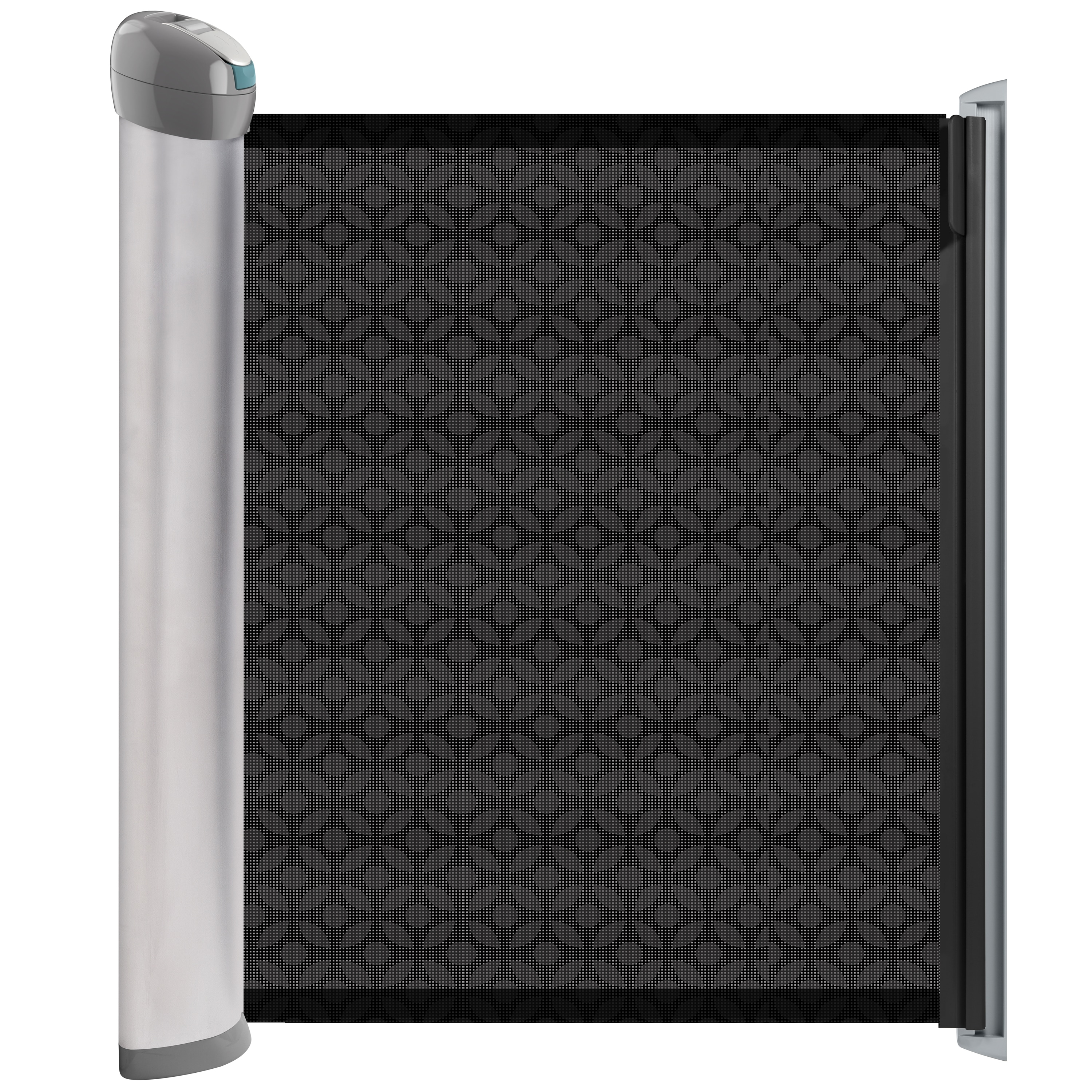 Summer Infant Products Baby Safety Gates 31 in. Retractable Hardware Gate Grey 27250