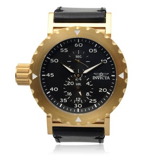 Invicta Men's 14640 'I-Force' Oversized Dial Stainless Steel Chronograph Watch