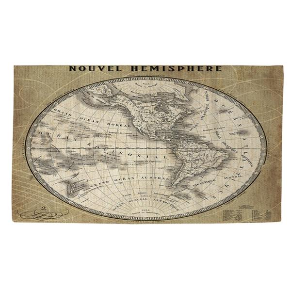 Shop French World Map Iii Rug 2 X 3 Multi Free Shipping