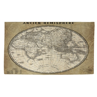 Thumbprintz French World Map II Rug (2' x 3')