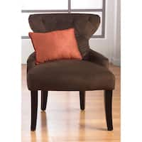 Porch & Den Over-the-Rhine Stonewall Hour Glass Upholstered Accent Chair