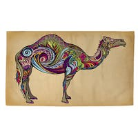 Camel Rug - multi