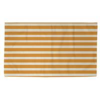 Bright Stripes Orange Rug (2' x 3')