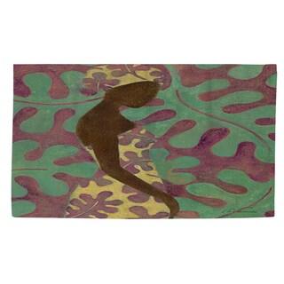 Thumbprintz Ebony Art Purple Rug (2' x 3')