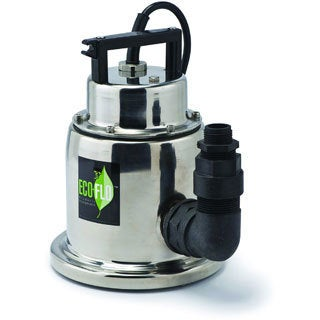 ECO-FLO SUP64 1/4 HP Stainless Steel Submersible Utility Pump