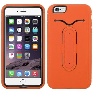 INSTEN Combo Phone Cover with Metal Kickstand and Card Slot For iPhone 6 Plus