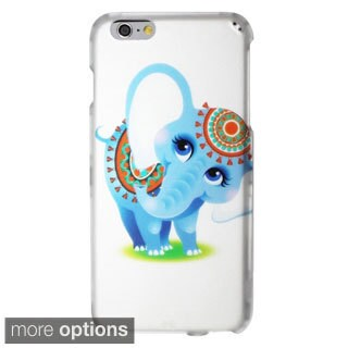 INSTEN Rubberized Matte Design Pattern Hard Snap-on Phone Case For iPhone 6 Plus