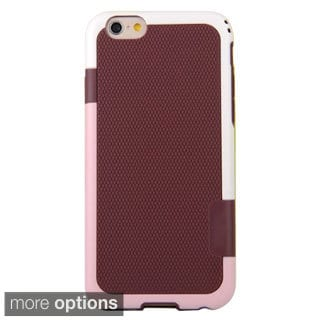 INSTEN Dual Colour TPU Slik PC Phone Case Cover with Bumper For iPhone 6 Plus