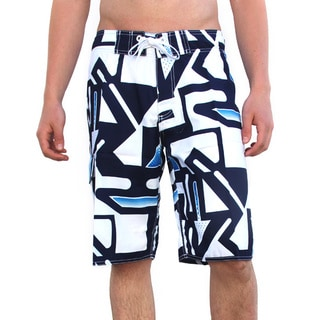 Azul Swimwear Men's 'Arrows' Navy Boardshorts