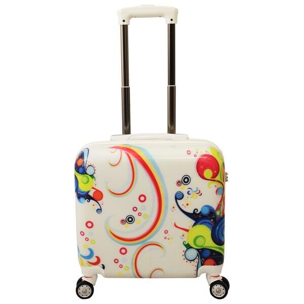 World Traveler Rio 2-piece Hardside Weekender Luggage Set - Free ...