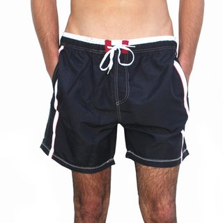 Azul Swimwear 'Diver' Black Swim Trunks