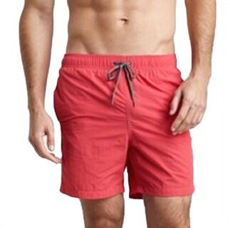 Azul Swimwear Men's 'Pipeline' Red Swim Trunks