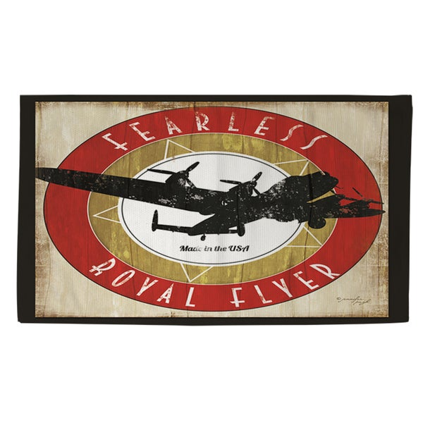 Shop Vintage Airplane Rug 4 X 6 Red 4 X 6 On