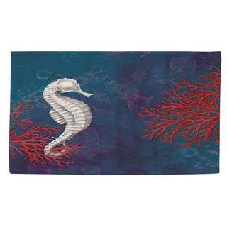 Thumbprintz Seastar Bay Seahorse Rug (2' x 3')