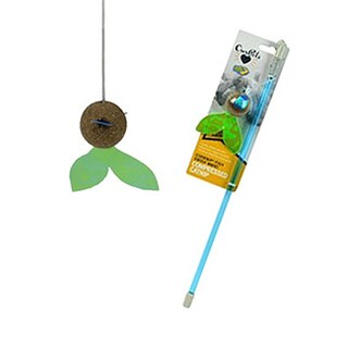 Our Pets Corknip Fish Swish Wand Cat Toy