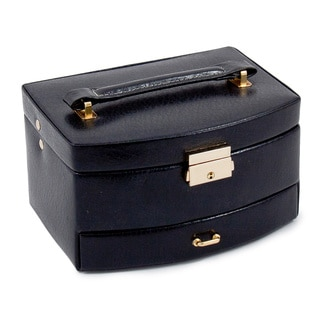Bey Berk 'Payton' Leather Jewelry Case
