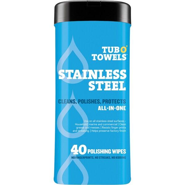 Shop Tub O Towels 7 Quot X8 Quot 40 Pkg Heavy Duty Stainless Steel