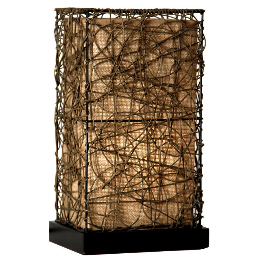 Style Craft Craft Natural Rattan Accent Lamp (Natural Rat...