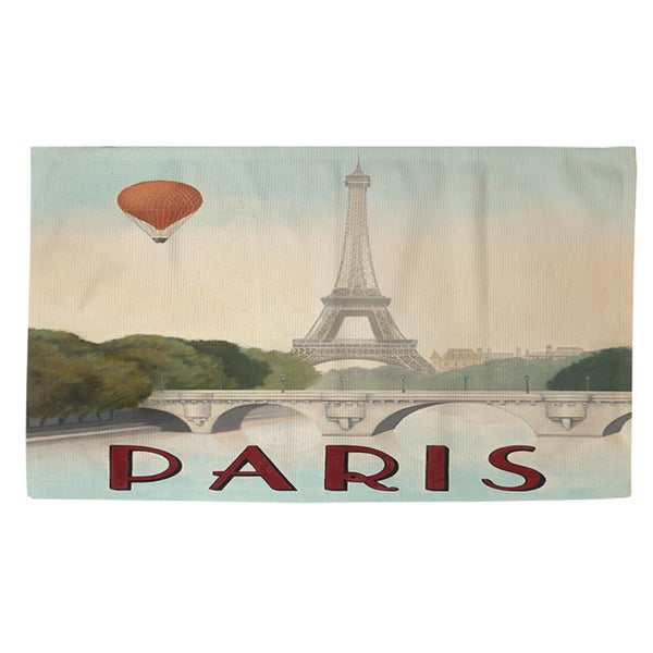 City Skyline Paris Rug (4' x 6')