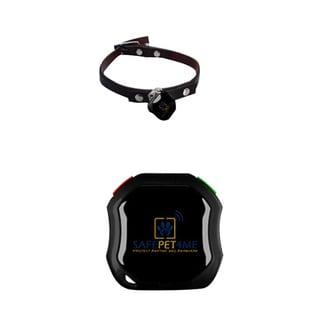 SAFEPET4ME SP4M-18 Waterproof GPS Tracker (GSM/GPRS/AGPS) with Free Application for Android and iOS